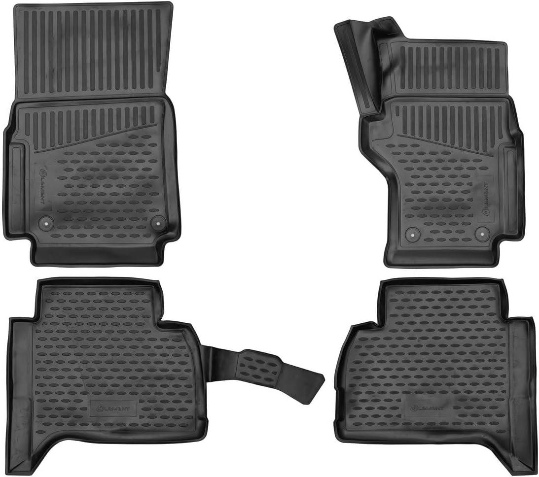 Black Element EXP.ELEMENT3D02466210k Tailored Custom Fit 3D Rubber Floor Mats for BMW X5 2019
