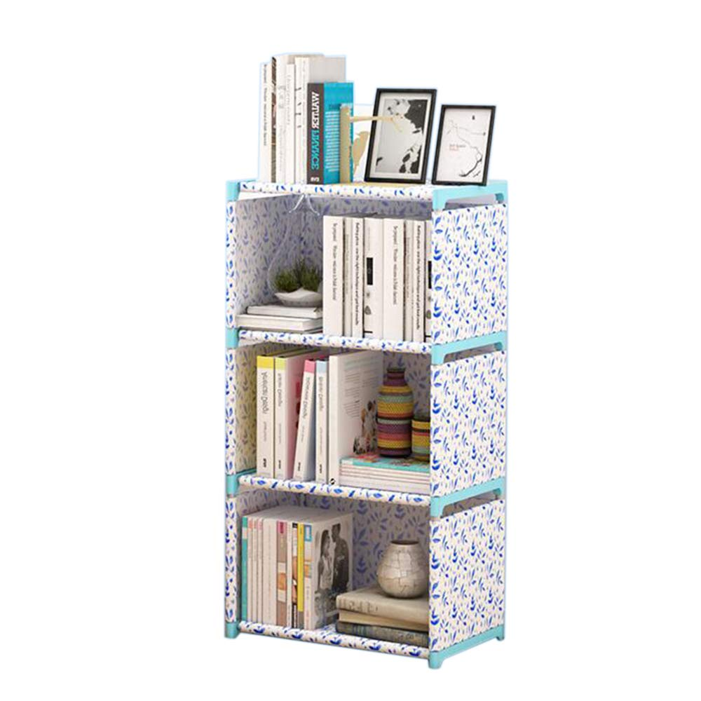 Jcnfa-Shelves Simple Bookshelf Floor Rack Student Creativity Combination Storage Cabinet Fall Prevention Display Stand (Color : A4, Size : 16.1412.2036.31in) by Jcnfa-Shelves