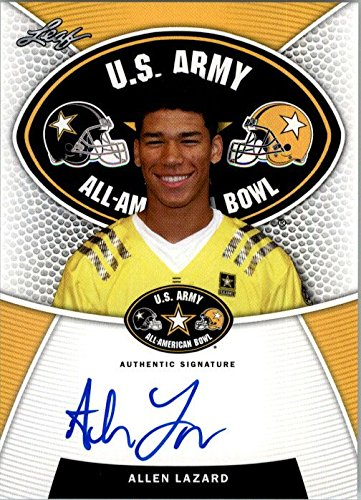 2014 ALLEN LAZARD Leaf US Army Autograph Rookie Auto RC IOWA STATE from Leaf