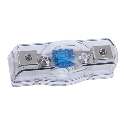 Baoblaze 60A Car Auto Speaker Circuit Breaker Amp Fuse Block