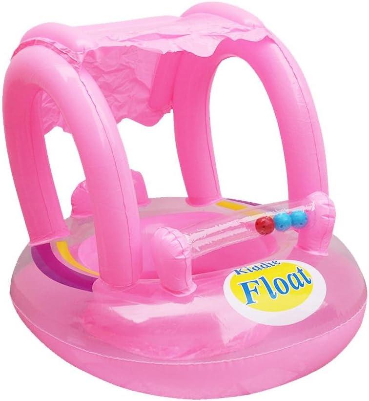 Gonflable Flotteur Siège Piscine Natation Bague Parasol bébé Enfants Natation jouets de l/'eau
