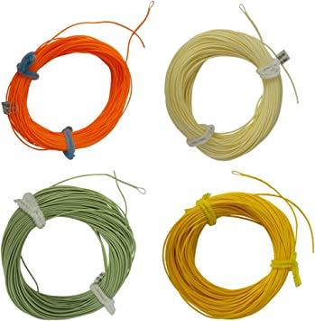 Aventik Fly Fishing Line Dynamic Tapered Floating Fly Line With One Exposed Loop