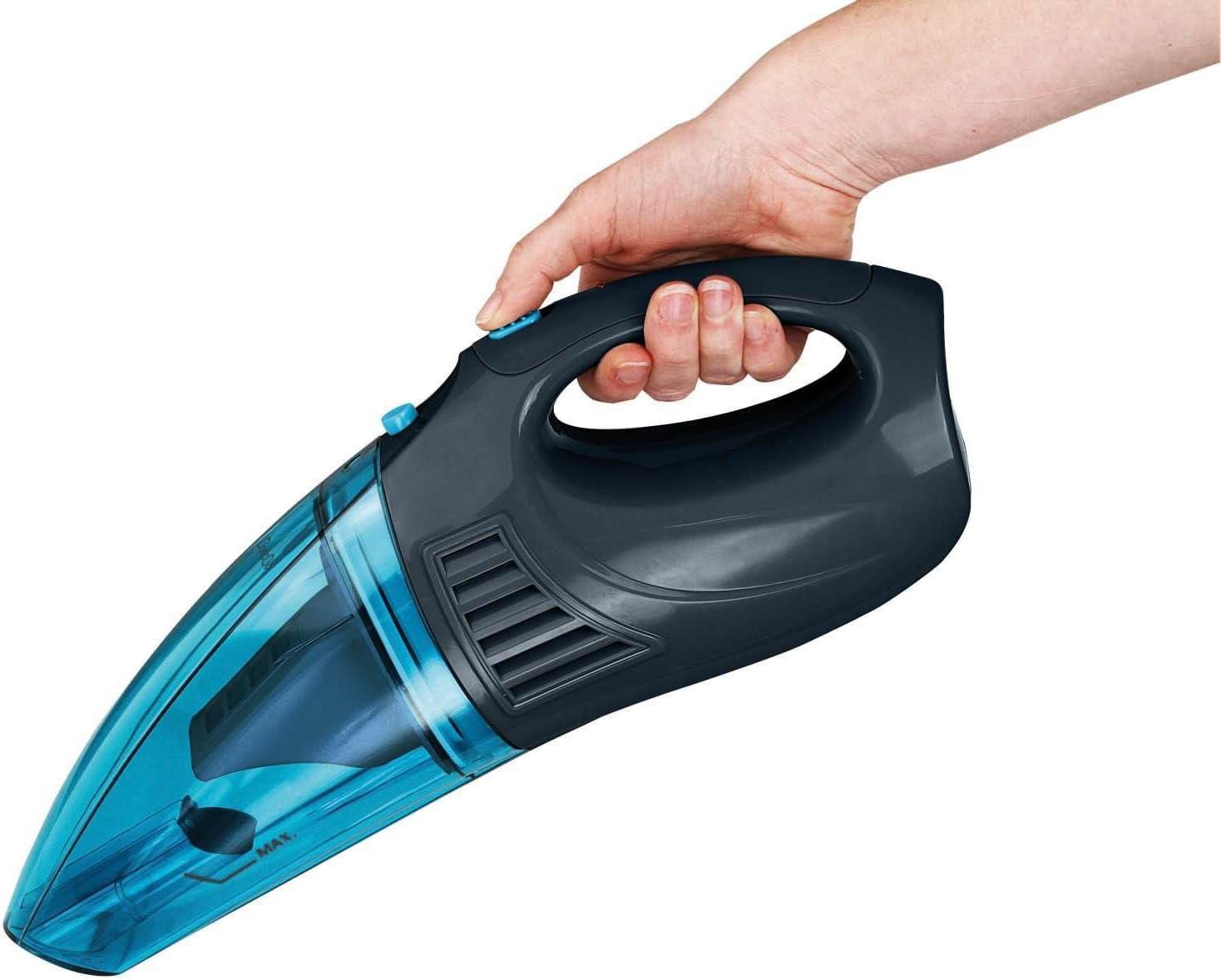 Aspiradora de mano para líquidos y superficies de mano Mini Aspiradora de aspiradora batería de aspiradora (inalámbrico, sin bolsa, pared, aspirador de Mojado, Azul): Amazon.es: Hogar