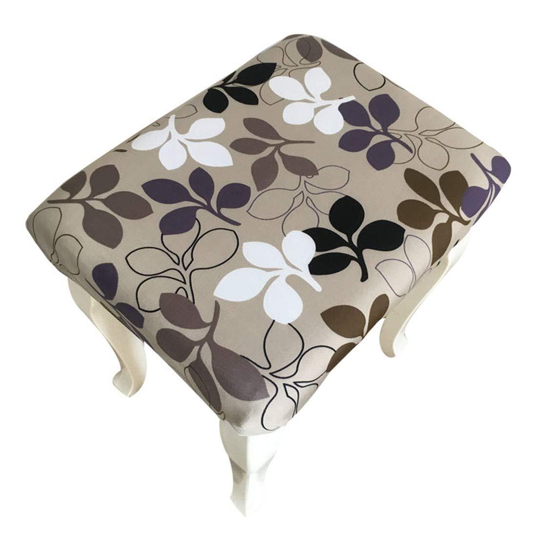 YUENA CARE Housse de Tabouret Chaise Remplacement Couverture de Chaise Extensible Polyester Spandex Couvre Tabouret 40 30cm//15.75 11.81 #1