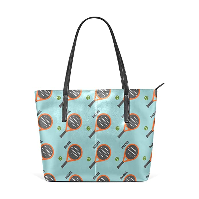 Amazon.com: Jojogood Padel Tennis Womens Tote Shoulder Bag Leather handbag: Shoes