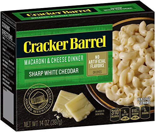 Cracker Barrel Macaroni and Cheese, Sharp White Cheddar for sale  Delivered anywhere in USA