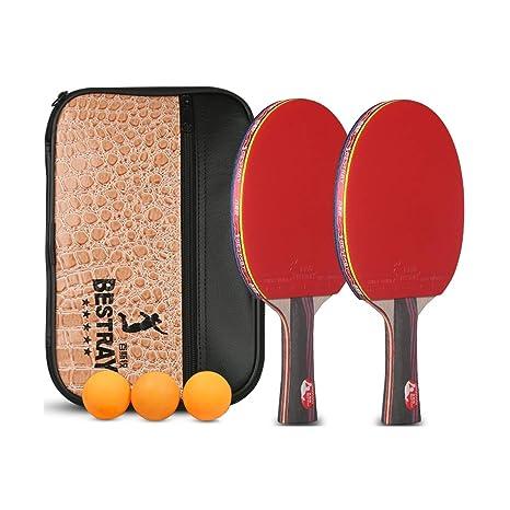 XIONGHAIZI Raqueta de Tenis de Mesa, Raqueta de Tenis de Mesa de ...