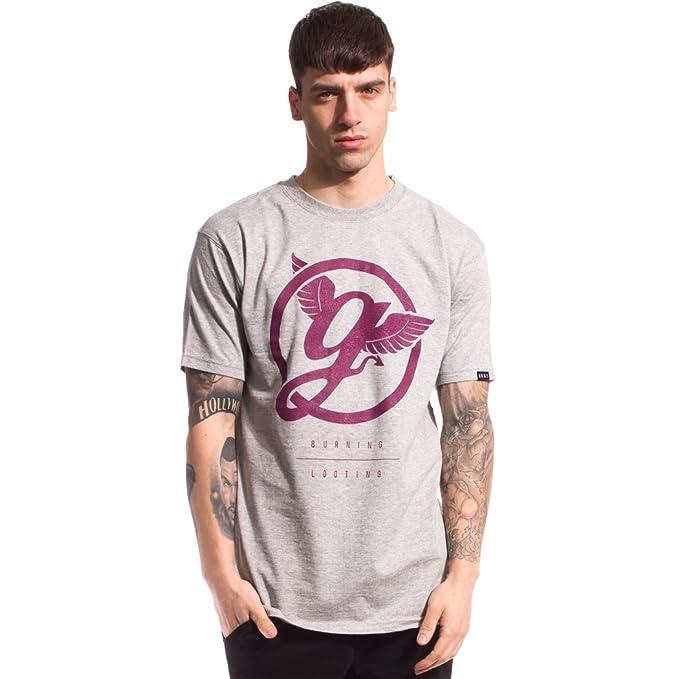Grimey Camiseta Street tee FW15 Sport Grey S
