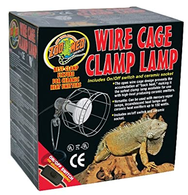 Zoo Med Wire Cage Clamp Lamp by Zoo Med Laboratories