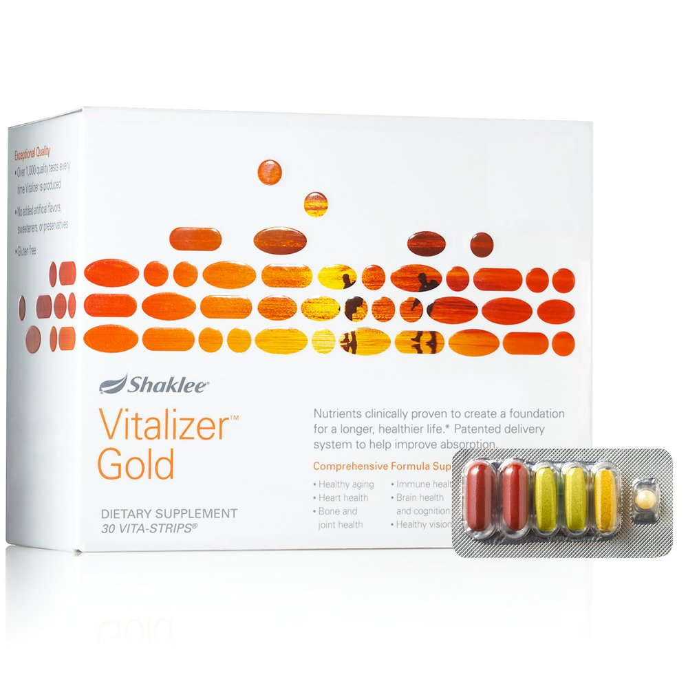 Shaklee Vitalizer Gold within Vitamin K 30 Strips