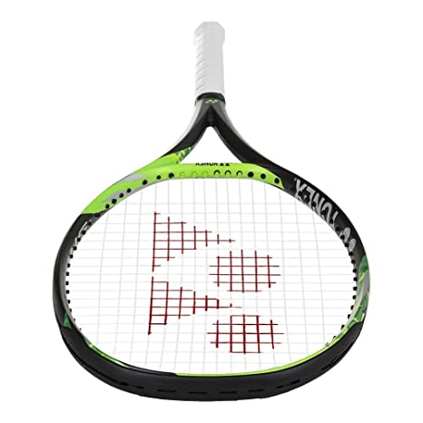 Amazon.com : Yonex EZONE 100 Lite (2017 Model - 285g) Tennis Racquet Strung with Custom Racket String Colors (Enhanced SweetSpot & Vibration Reduction) ...