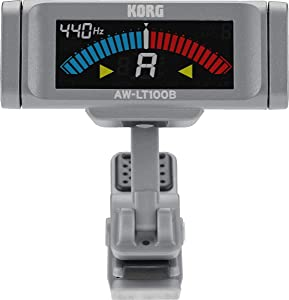 Korg AW-LT100B Clip-On Bass Tuner Black