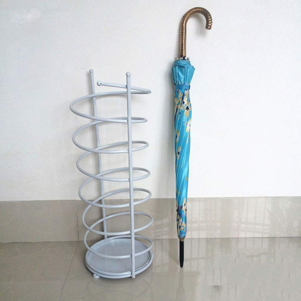 Small GLJJQMY Creative Wrought Iron Umbrella Stand Umbrella Stand Storage Umbrella Umbrella Stand Hotel Lobby European Household Umbrella Stand 20  61cm 24  61cm 28  61cm Umbrella Stand (Size   S)