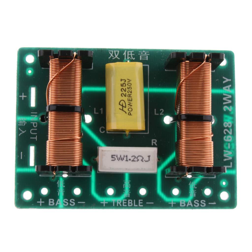 F Fityle 3 Vie 120w Altoparlante Audio Stereo Divisore Frequenza Crossover Amplifier Scheda Madri