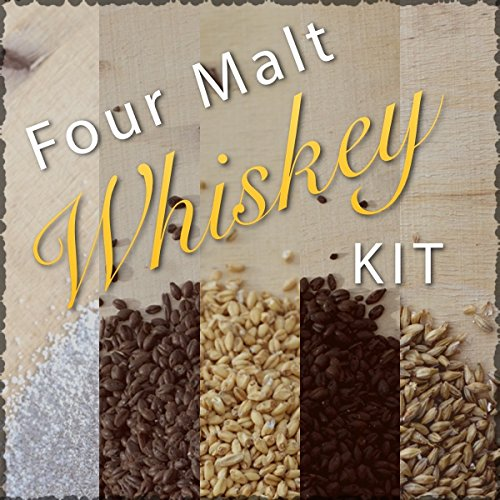 FOUR MALT WHISKEY INGREDIENT KIT AND RECIPE (Best Corn Whiskey Recipe)
