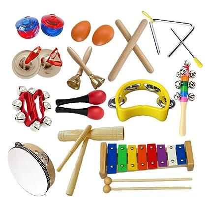 Amazon.com: HBIAO - Juego de instrumentos musicales para ...
