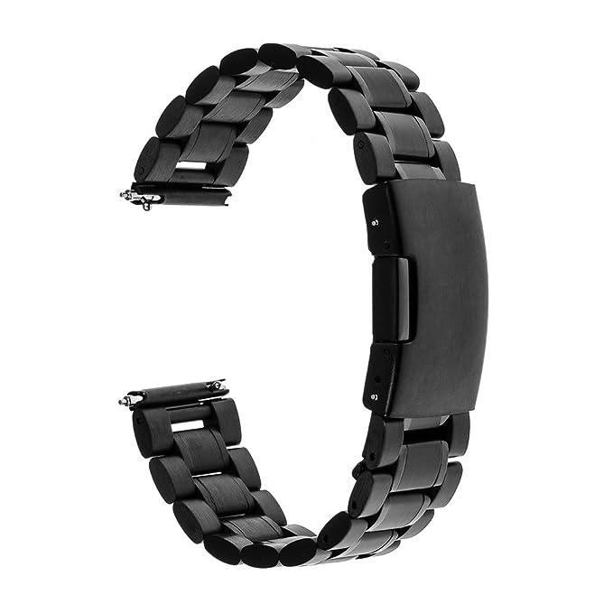 2 opinioni per TRUMiRR 20mm sgancio rapido del cinturino in acciaio bracciale cinturino in
