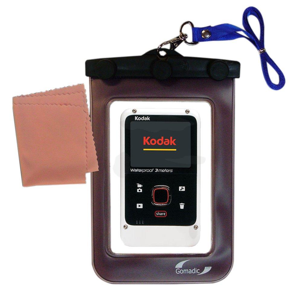 Gomadicアウトドア防水携帯ケースSuitable for the Kodak Playfull ze2に使用Underwater – keepsデバイスClean and Dry   B00BR235ES