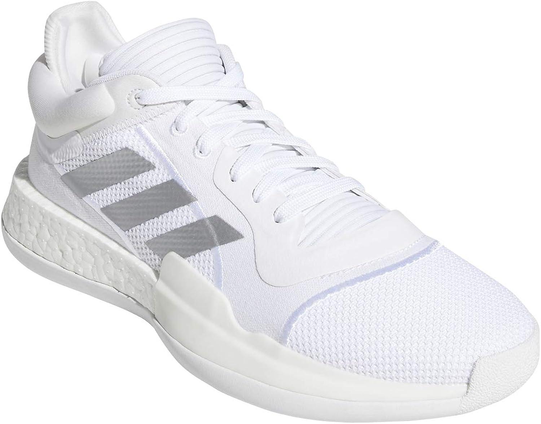 Adidas Herren Marquee Boost Low Leichtathletik-Schuh Ftwr Weiss Silber Met Ftwr Weiss
