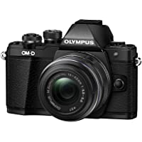 Olympus OM-D E-M10 16.1MP Full HD 1080p Wi-Fi Mirrorless Digital Camera with 14-42mm Lens