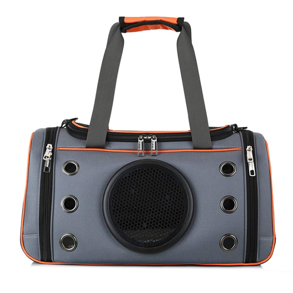 orange Small orange Small Pet Out Carrying Bag, Breathable Design Space Capsule cat Portable cat Bag Dog Bag,orange,Small
