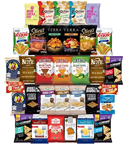 Snacks Generation Chips, Cracker, Popcorn & More Healthy Snacks Mixed Variety Pack (35 Count) (35 pack) For Sale