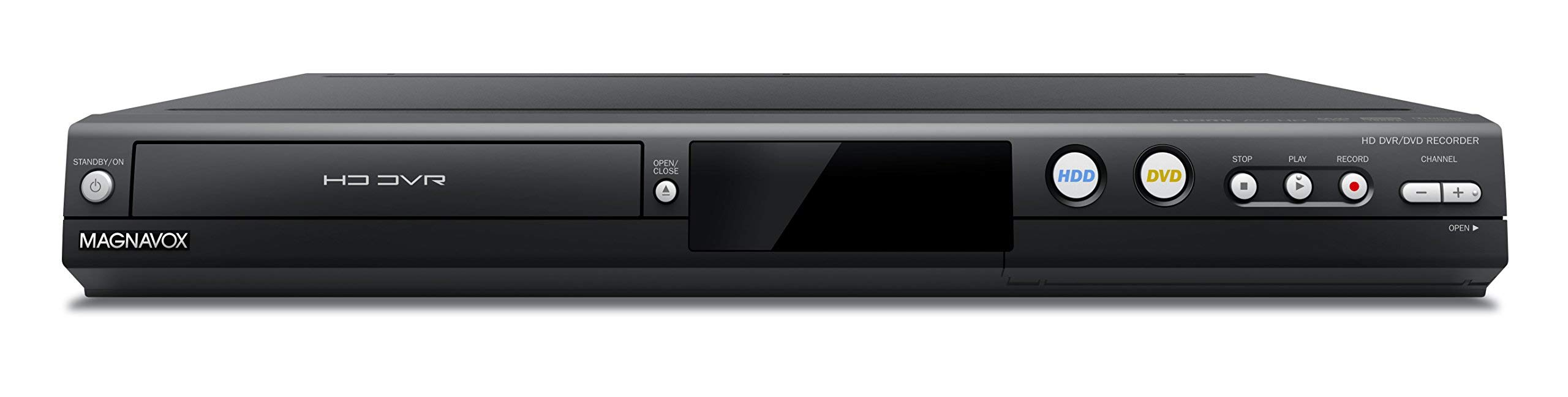 Magnavox MDR865H HD DVR/DVD Recorder with Digital Tuner (Black) (Renewed) by Magnavox