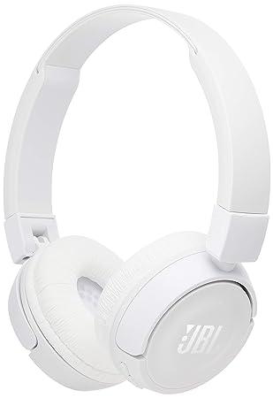 JBL t450bt Bluetooth auriculares la cerrar herméticamente tipo/sobre, año/plegable negro: jblt450btwht: Amazon.es: Electrónica
