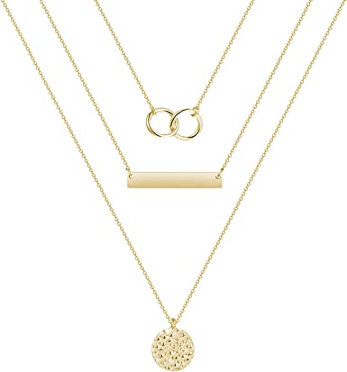 YANCHUN Star Choker Necklace Gold Choker Necklace for Women Dainty Layer Necklaces for Teen Girls Gift