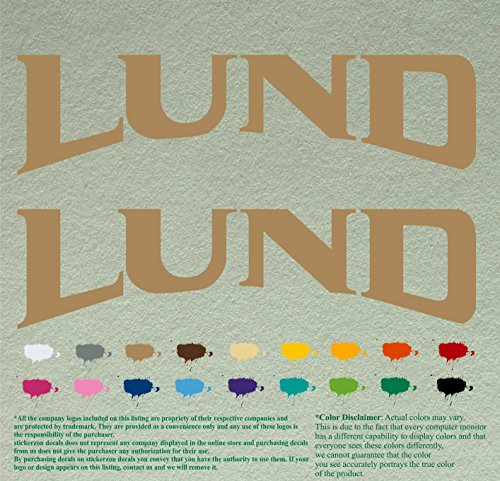 lund boats decal - 9