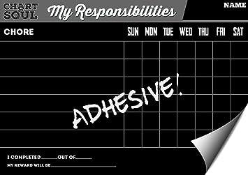 Pizarra Chore lado gráfico con recompensas - Responsabilidad ...