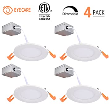 4 inch slim led downlight dimmable 9w 65w led recessed lighting 4 inch slim led downlight dimmable 9w 65w led recessed lighting 650lm aloadofball Images