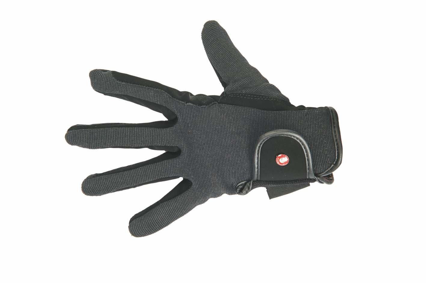 HKM Damen Reithandschuh -Professional Nubuk Lederimitat Handschuhe 6887