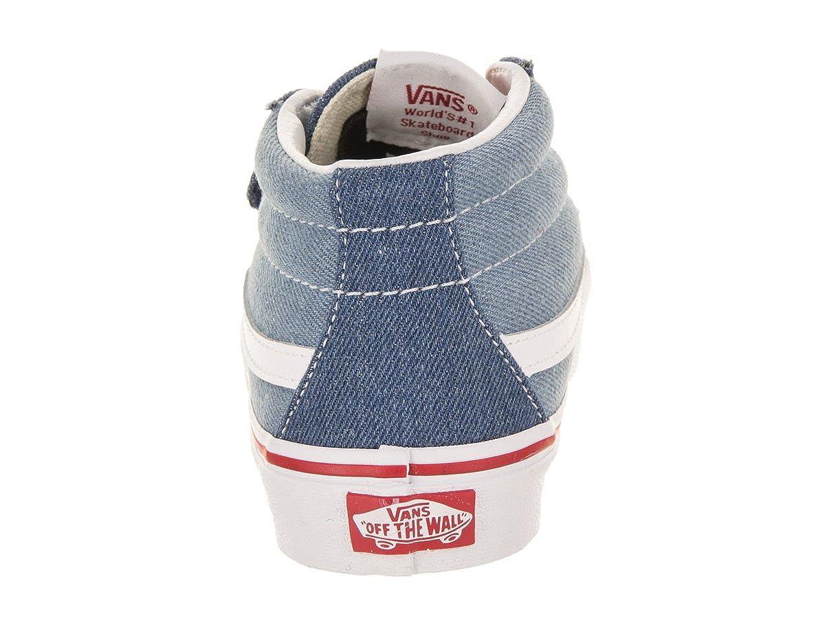 1c2ac5cab0 Vans Kids K SK8 Mid Reissue V Denim 2 Tone Blue True White Size 13.5   Amazon.co.uk  Shoes   Bags