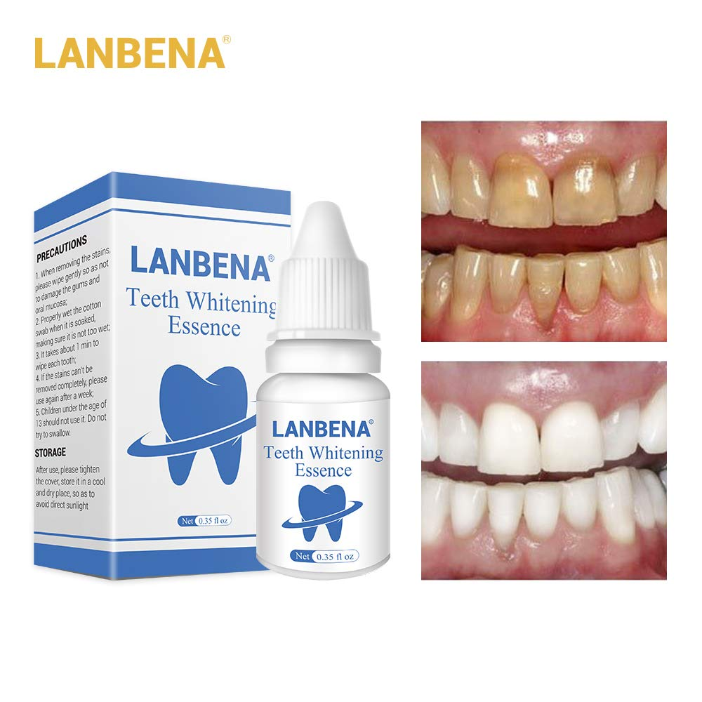 Wowobjects Lanbena Teeth Whitening Essence Oral Hygiene Cleaning