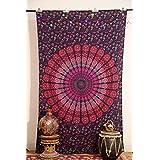Mandala Tapicería Tapices, india Tapiz, Tapiz Hippie, Indian Pared Ja ...