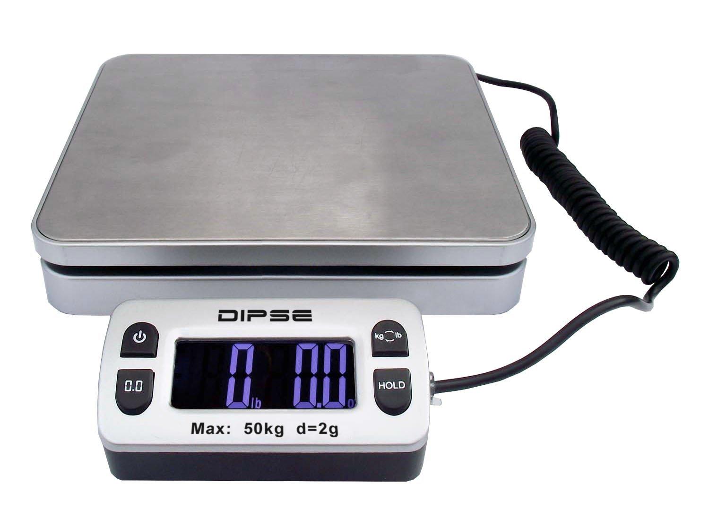 Dipse Parcel Mini – Balanza de paquetes con pantalla externa y gran potencia de pesaje 50kg x 0,002kg: Amazon.es: Oficina y papelería