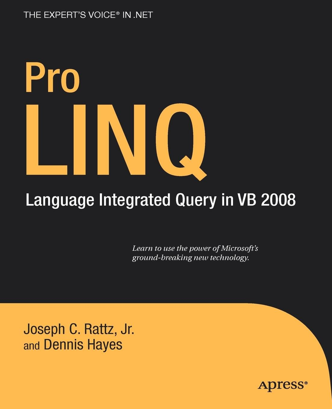 Pro LINQ in VB8: Language Integrated Query in VB