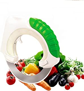 Plastic Acciaio Wenco 504140/trinciapollo Impugnatura Gommata 7.9/x 2/x 28/cm Nero