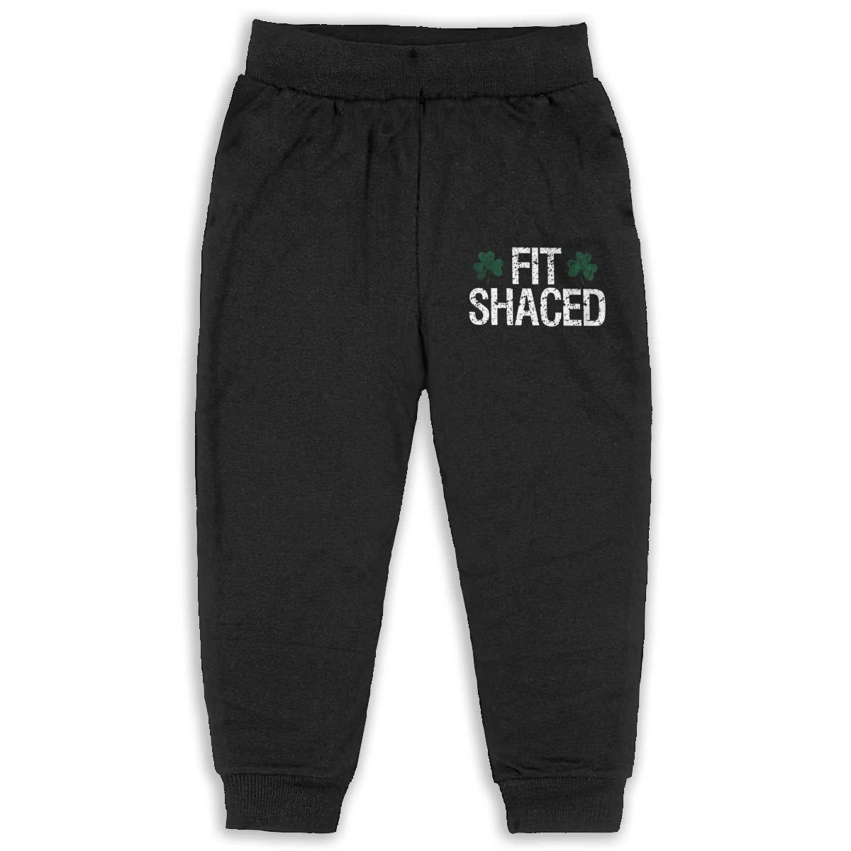 Fit Shaced Kids Cotton Sweatpants,Jogger Long Jersey Sweatpants