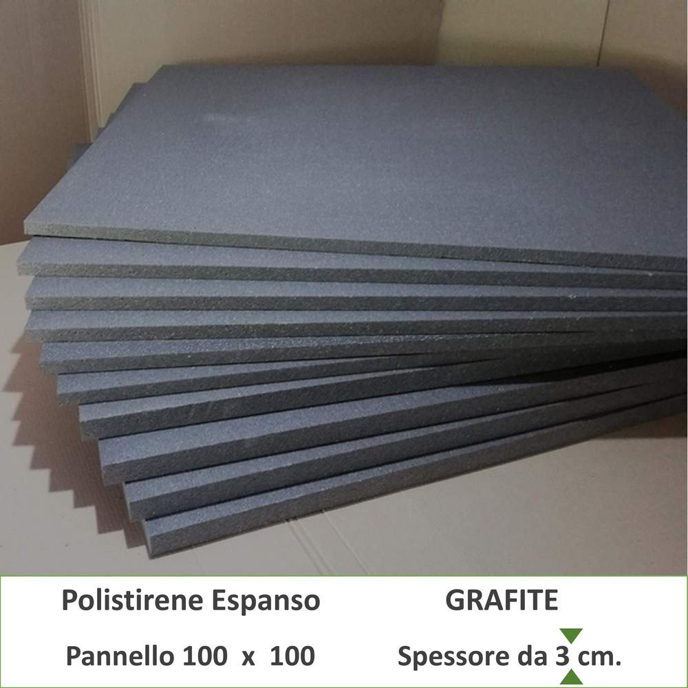 FUTURAZeta Polistirolo Grafite spess. 8 cm 5 pannelli