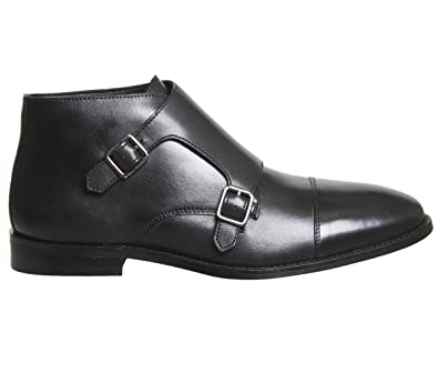 Ask The Missus Guy Monk Boot Black Leather