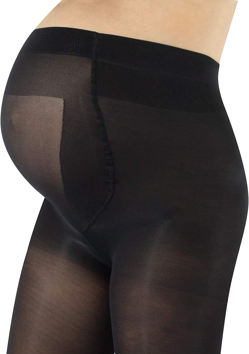 XL Comfort Fit for Pregnant Silhouette Maternity Tights 100 Denier size M