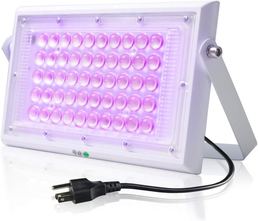 395nm 110-240V 1 Sec Glue Dried Led UV Gel Curing Lamp 3D Printer Printing Machine Ink Paint Silk Screen Version Ultraviolet Cure Metal