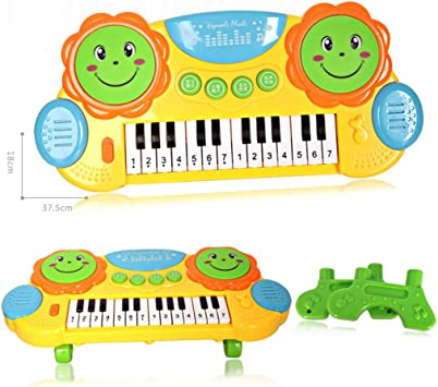 Lukame Teclado musical Juguete musical para niños Instrumento ...