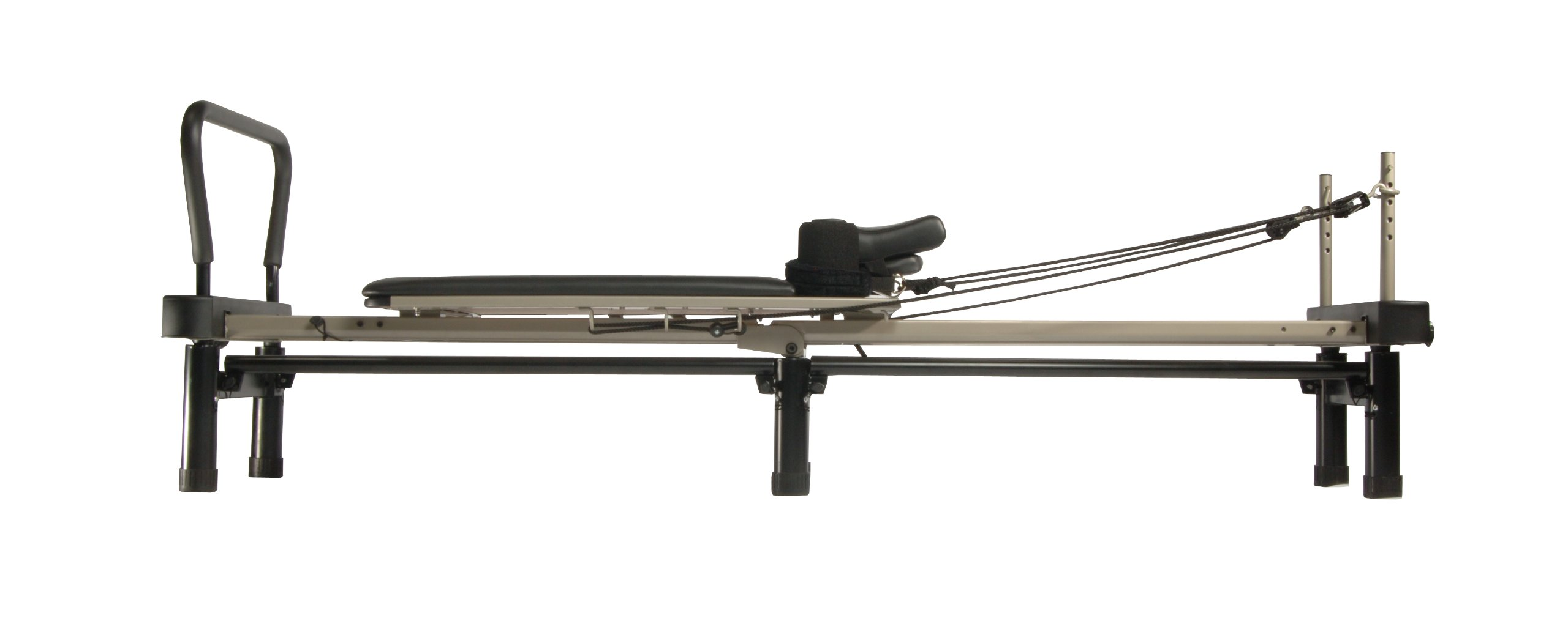 Stamina AeroPilates 700 Premier Reformer with Stand, Cardio Rebounder, Neck Pillow and DVDs by Stamina (Image #5)