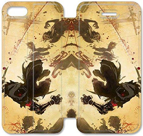Flip étui en cuir PU Stand pour Coque iPhone 5 5S, bricolage 5 5S téléphone portable 3D Coque Case Yaiba Ninja Gaiden Z V0B8JO Coque iPhone étui en cuir sur mesure