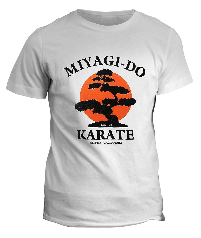 fashwork Tshirt Film Cult Karate Kid Maestro Miyagi Miyagi Do Karate in Cotone Cult Movie 80s 90s
