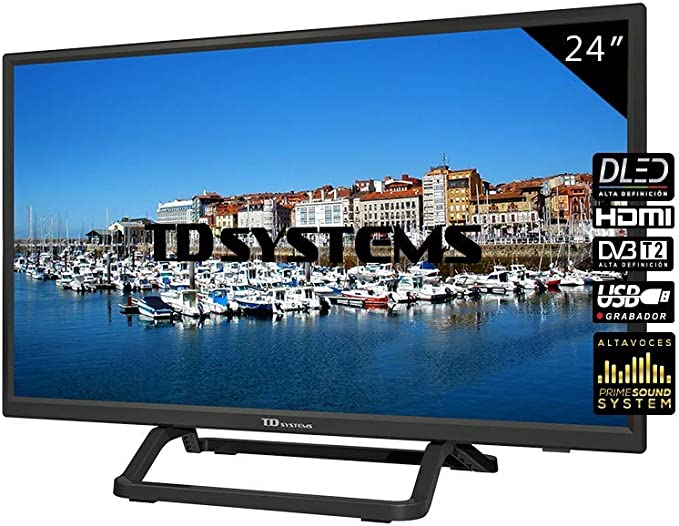 TD Systems Televisor HDMI, VGA, USB, 800 PCI Hz, Grabador ...