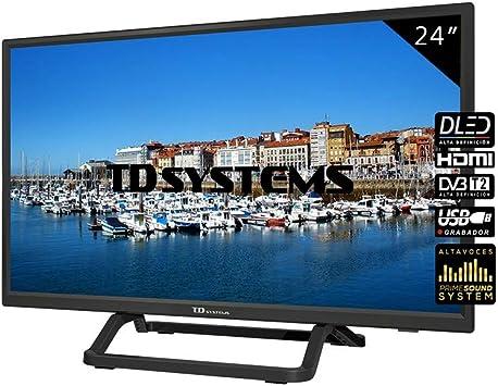 Television 24 Pulgadas, HDMI, VGA, USB, 800 PCI Hz, Grabador ...